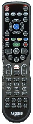 NEW ANDERIC 4-Device Universal Remote Control RRU401.3 Smart Universal with M...