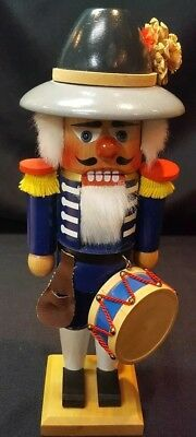 "Vintage German Nutcracker  Drummer  11"" Tall"