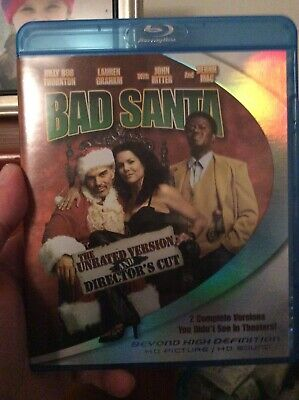 Bad Santa Blu-ray Disc, Director's Cut & Unrated-Used Like New