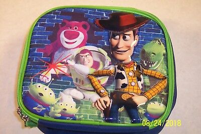 Toy Story Soft Lunch Box Insulated Bag Buzz & Woody Disney Store