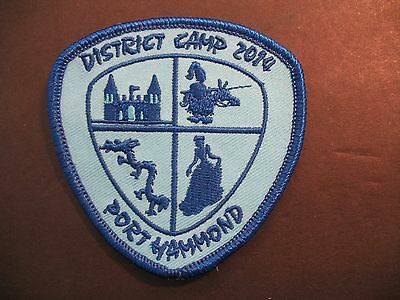 Girl Guides Canada  Port Hammond District Camp 2014 Patch Scouts Brownies