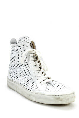 Womens High Margiela Size Top Cut Sneakers White 9 Laser Maison 39 MM6 qUETtt