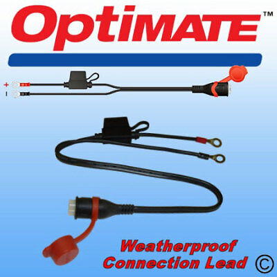 TM71 Weatherproof Eyelet Lead for use with OptiMate and AccuMate battery charger