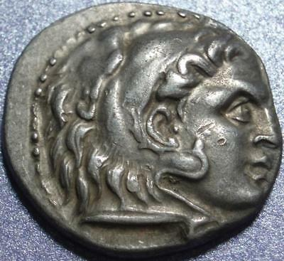 "336-323 BC > ALEXANDER ""THE GREAT"" < Silver DRACHM, He CONQUERED the KNOWN WORLD"