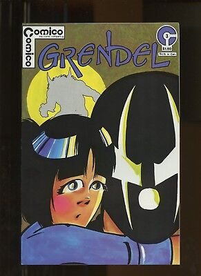 Grendel (vol.1) 3 NM+ 9.6 *1 Book* 1983 Comico! Matt Wagner!
