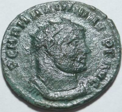 286-305 AD ANCIENT ROME Post-Reform RADIATE of MAXIMIAN >First TETRARCHY & REIGN