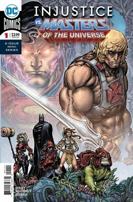 Injustice Vs Masters Of The Universe Complete Set Of 6 Issues 7 Covers Dc 2019