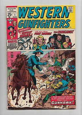 Western Gunfighters #1 Ghost Rider (Marvel GIANT 1970) FN- 5.5 Sharp Copy