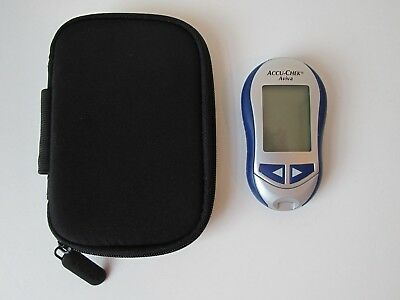 Accu-Chek Aviva Diabetes Blood Glucose Monitor/Meter with Carry Case