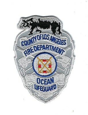 Los Angeles County Fire Dept. OCEAN LIFEGUARD patch - NEW!