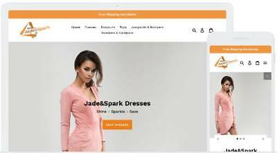 Shopify Dropshipping Women's Fashion Website/Store - Ready Made