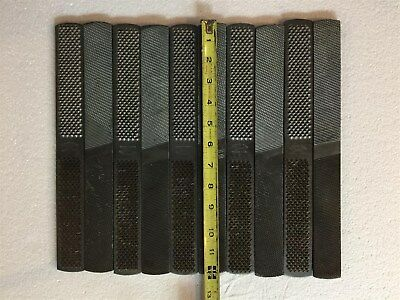 Qty. 10 Nicholson Rasp File, Knife Making Steel, Blade Making, Forge, Blacksmith