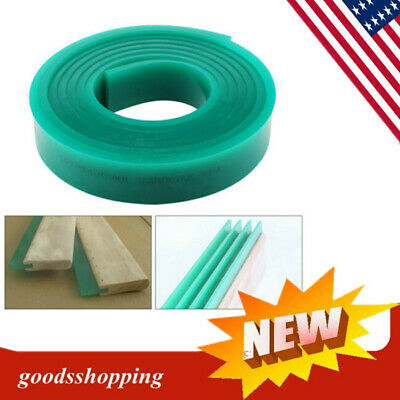 70 Durometer Silk Screen Printing Squeegee Rubber Blade Roll 6 FT 5x180cm TOP!!
