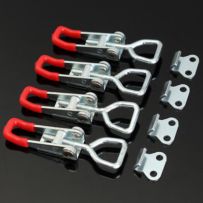 4X Large Stainless Steel  Latch Over Center Latch Tool Box Camper Trailer AU