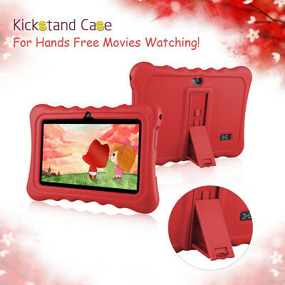 7''LCD Android 7.1 8GB WIFI 2500Ah 2camera Kids Tablet Pad PC Touch Screen FM US