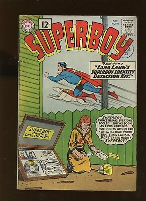 Superboy 93 FN 6.0 *1 Book* 1961 DC Comics! Chameleon Boy! Legion! LSH! Papp!