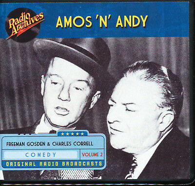 AMOS 'N' ANDY: Volume 2 (Old Time Radio Archives 10-CD set) - OTR - Great sound!