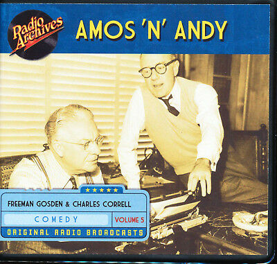 AMOS 'N' ANDY: Volume 5 (Old Time Radio Archives 6-CD set) - OTR - Great sound!