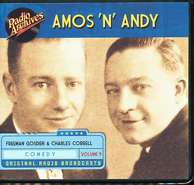 AMOS 'N' ANDY: Volume 9 (Old Time Radio Archives 6-CD set) - OTR - Great sound!
