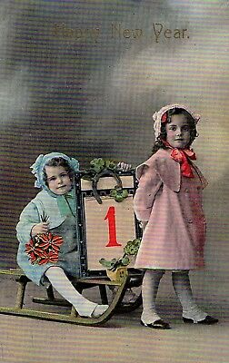 Early 1900's Elegantly Embossed Historic Vintage Antique Topical Post Card #17