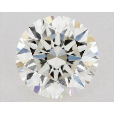 Loose Moissanite (5.25 TO 12.75 mm) Off White Yellow VVS1, Round Brilliant Cut