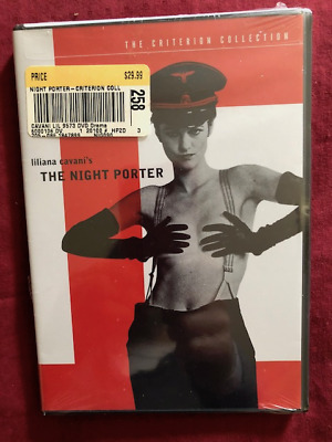 THE NIGHT PORTER DVD ~ RARE CRITERION FIRST PRINTING (stated)~NUDE SEX SCENE CUT