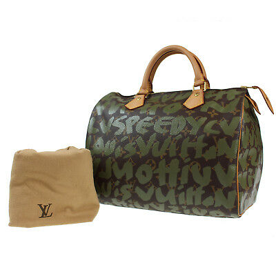 3a54bbdb7ffa Louis Vuitton Graffiti Speedy 30 Boston Borsetta Monogramma M92194 Auth   N574 W