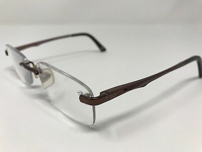 5e92f145ca Dolce Gabbana Eyeglass Frames DG5071-012 Shiny Brown Rimless 51-15-135mm  CG06
