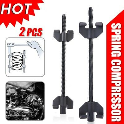 2x Coil Spring Compressor Clamp Heavy Duty Quality Car Truck Auto Tool 380mm Set