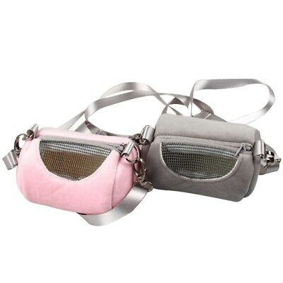 Small Pet Carrier Hamster Guinea Pig Carry Pouch Travel Tote Cage Shoulder Bag