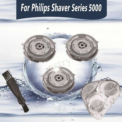 For Philips Norelco SH50 Series 5000 3x Shaver Razor Head Blades+Cover+Brush🇦🇺