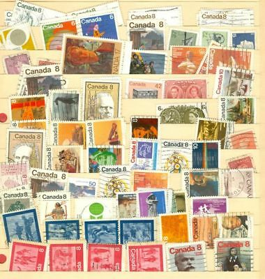 Canada Medium to Large 500 used stamp Lot#6520
