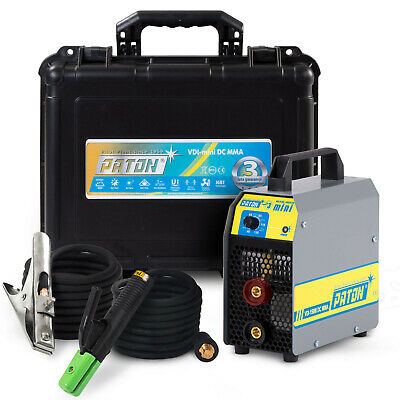 Arc Welder MMA Stick Welding Machine Light Portable Inverter PATON VDI 150A MINI