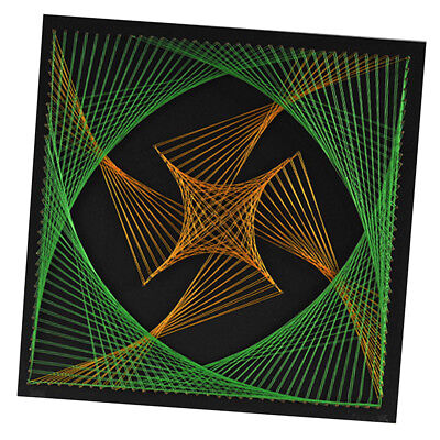 Pin String Craft Geometry String Art Kits DIY Home Decor for Adults Children