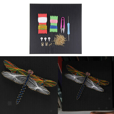 Pin String Art Dragonfly String Art Kits DIY Home Decor for Adults Children
