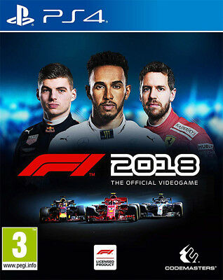 F1 2018 (Ps4)  Brand New And Sealed - In Stock - Quick Dispatch - Free Uk Post