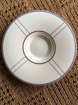 Vintage Rare Vera Wang Wedgwood Metro Saucer Fine China Replacement 6 Inch