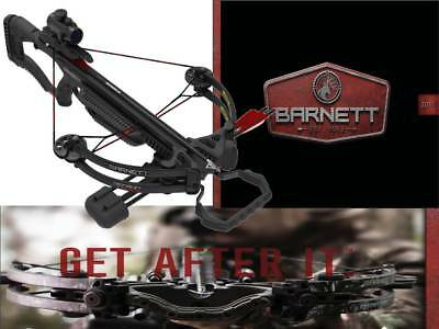 BARNETT CROSSBOWS RECRUIT Tactical Compound Red Dot Scope Rope  Cocking-2Arrows