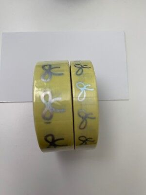 Simply Gilded Yellow Candy Bows Washi Set