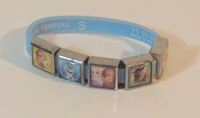 Roxo Disney Frozen Charm Bracelet with 5 charms - Excellent Condition