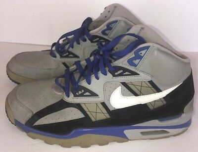 the best attitude 009c2 141f7 ... shox turbo vii 7 laf met silver blue sz 9.5 67268750 942a7 88767  official store mens nike air trainer sc high size 13 blue gray preowned  basketball ...