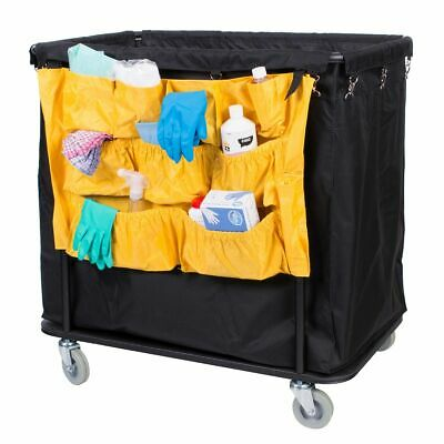 Laundry Trolley Caddy Bag - Yellow