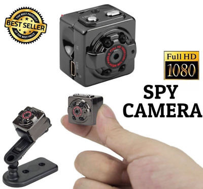 SQ8 Full HD Mini Telecamera Nascosta Rivelatore Movimento WEB SPY Spia Cam