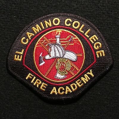 California - El Camino College Fire Academy Patch / Firefighter South Bay