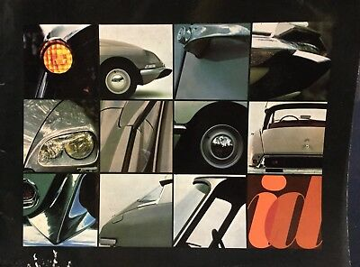 Rare Catalogue 1967 CITROËN DS  ID 19 !!!