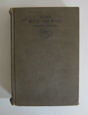 GONE WITH THE WIND by Margaret Mitchell,  First Edition 1936 November HC