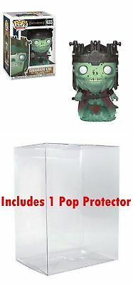 Funko POP! Lord of the Rings: Dunharrow King (Bundled w/ Pop BOX PROTECTOR CASE)