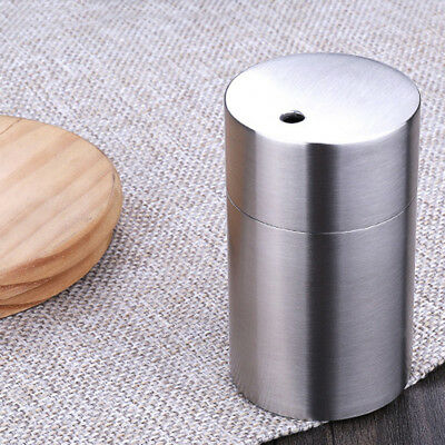 Stainless Steel Toothpick Box Container Dispenser Holder Countertop Table