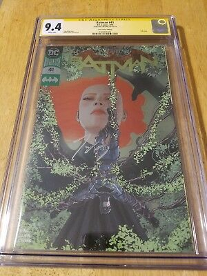 DC Comics BATMAN #41 CGC SS 9.4   Silver Foil Convention Edition ss by Tom King