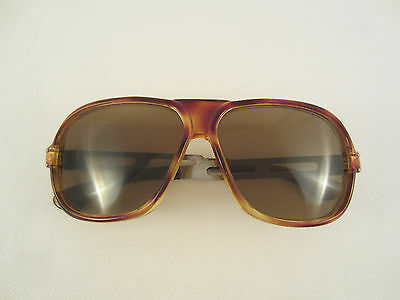 SONNENBRILLE VINTAGE KING AVIATOR SUNGLASSES METALL BÜGEL 70'er MADE IN GERMANY